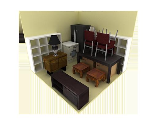 10'x10' Storage Unit